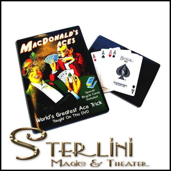 McDonald's Aces w/DVD