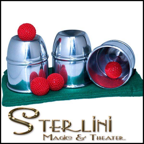 Classic Cups and Balls - Aluminum (Bazar de Magia)