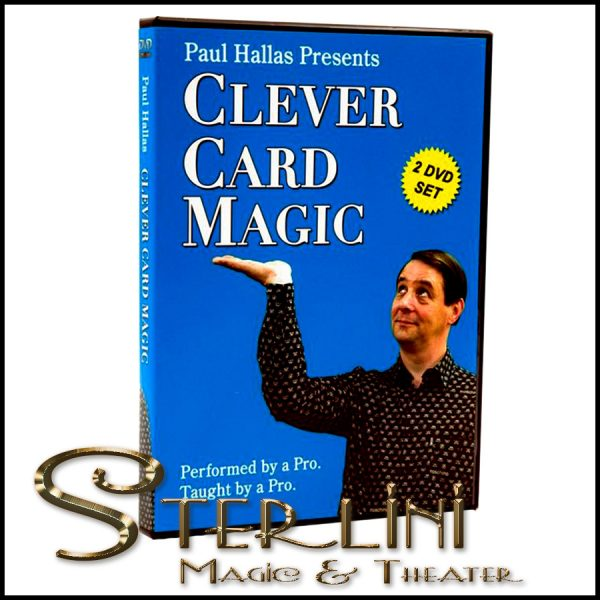 Clever Card Magic Paul Hallas 2 DVD Set