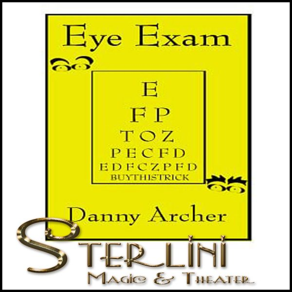 Eye Exam Danny Archer