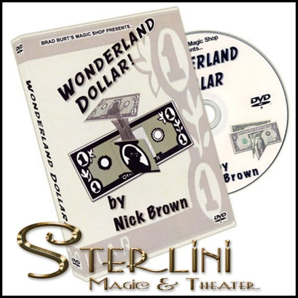 Wonderland Dollar (With Bill)-Nick Brown - DVD