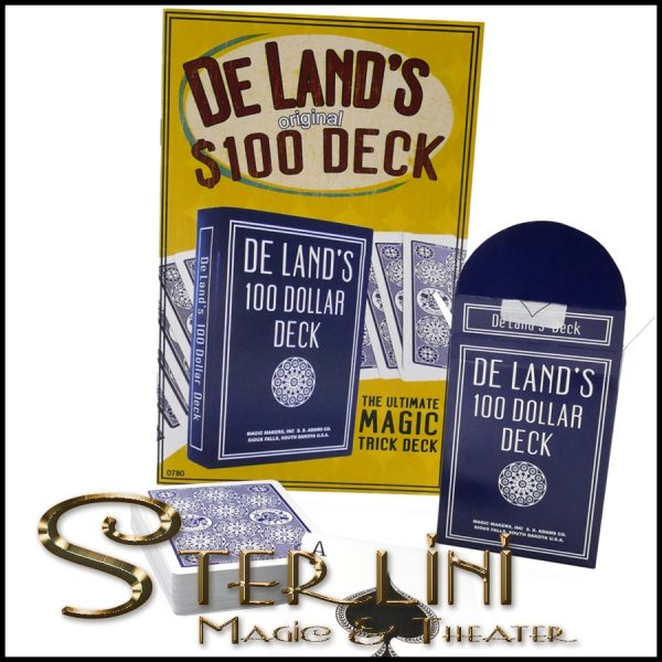 DELAND'S 100 DOLLAR DECK W/BOOKLET