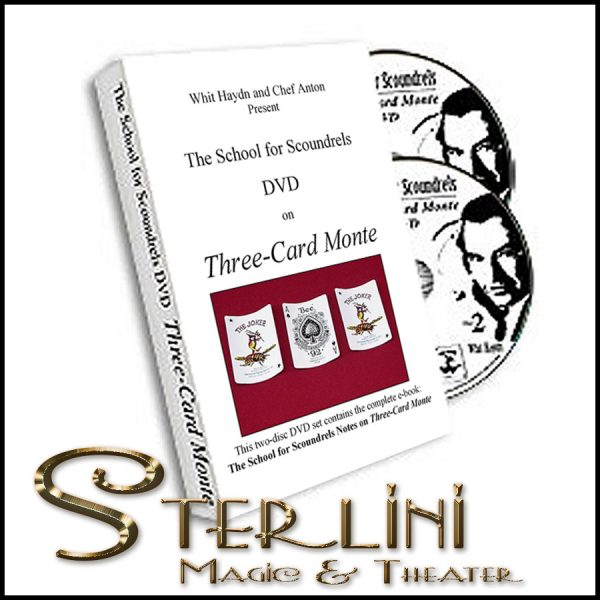 The School for Scoundrels DVD Three-Card Monte