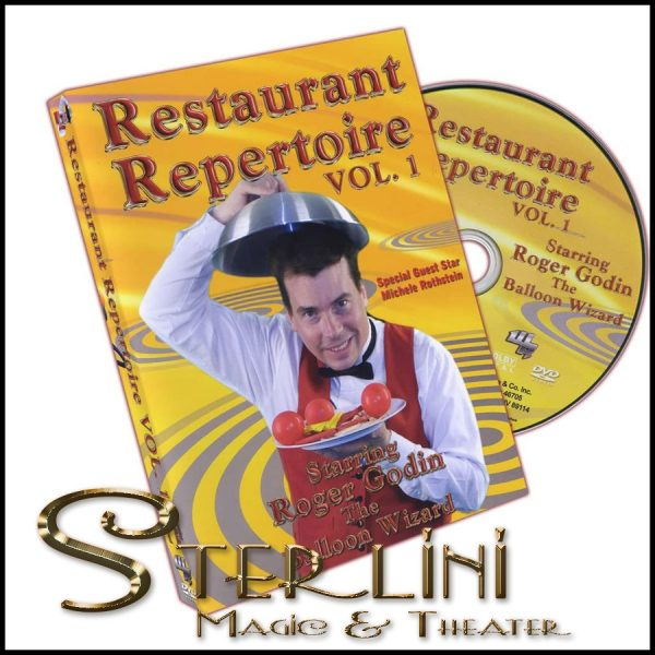Magic Restaurant Repertoire Vol 1-Roger Godin DVD