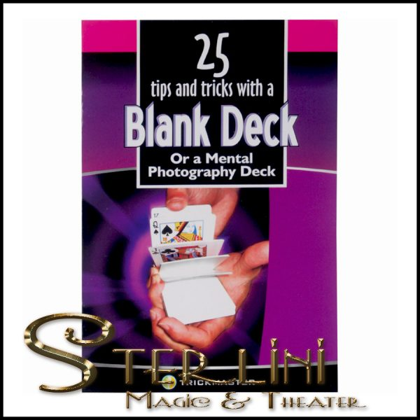 25 Tricks With A Blank Deck